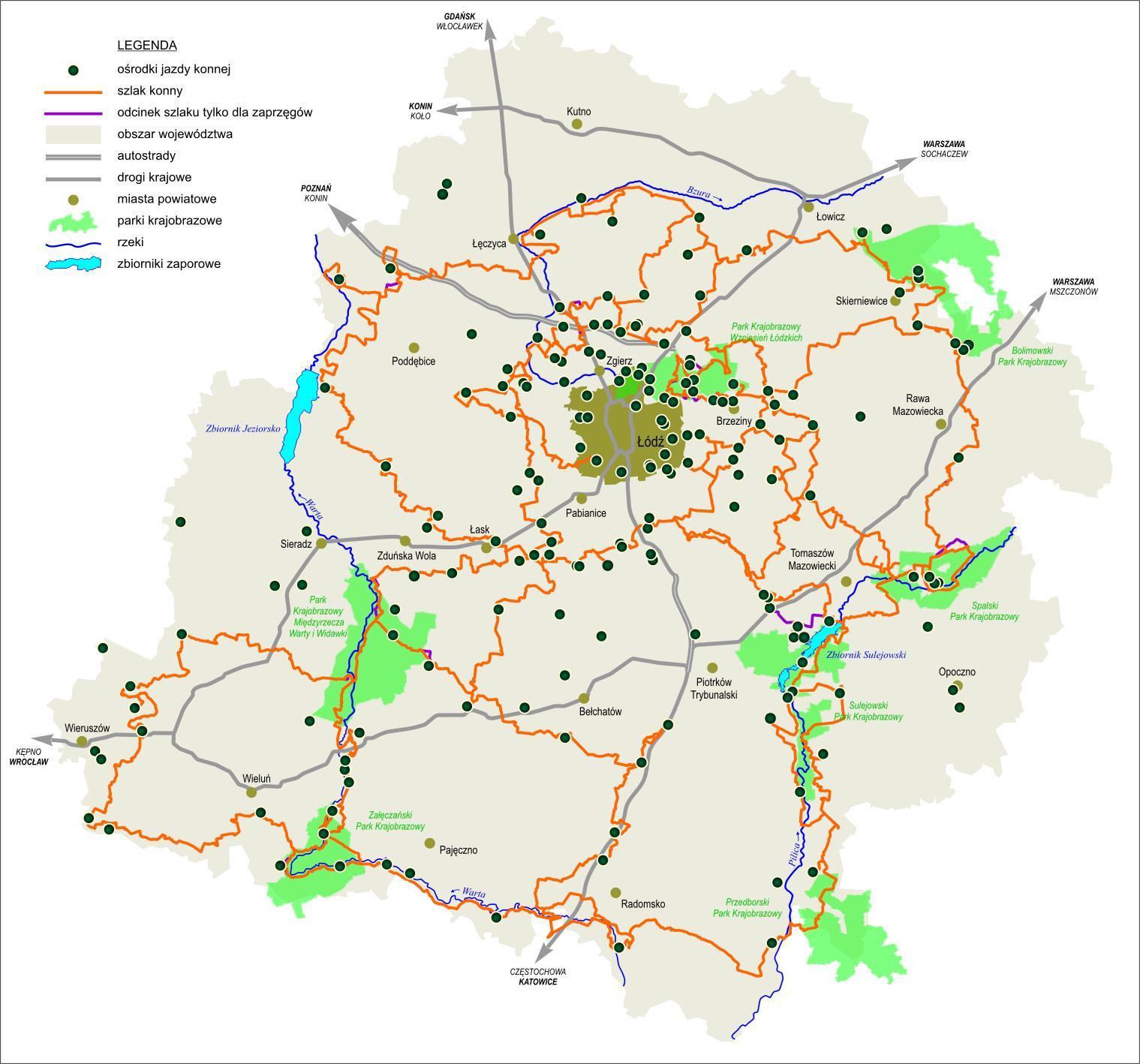 LodzkiSzlakKonny_mapa